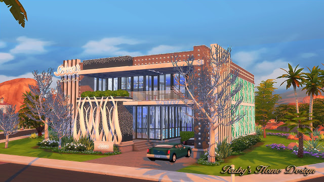 Blue Moon Bowling Club at Ruby's Home Design image 846 Sims 4 Updates