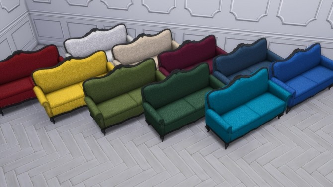 Gothic Ranch Living Chair & Loveseat by TheJim07 at Mod The Sims image 847 670x377 Sims 4 Updates