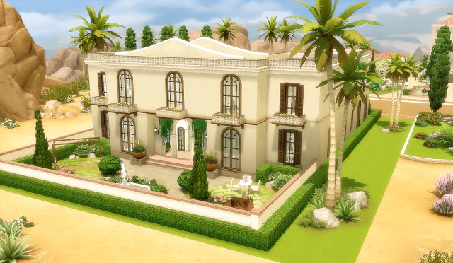 Sims 4 House 47 Oasis Springs at Via Sims