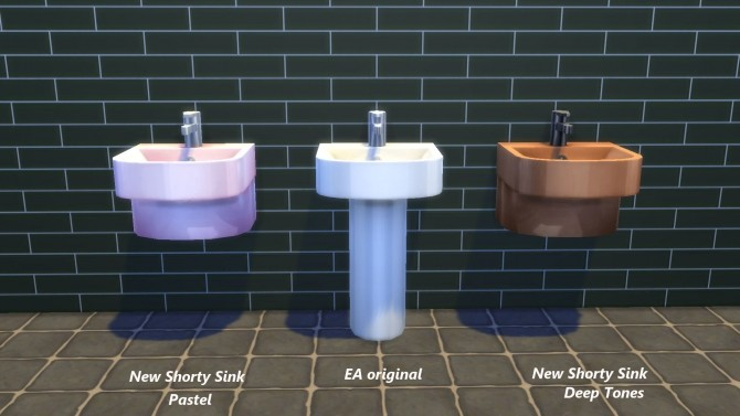 Shorty Sink by Snowhaze at Mod The Sims image 88 670x377 Sims 4 Updates