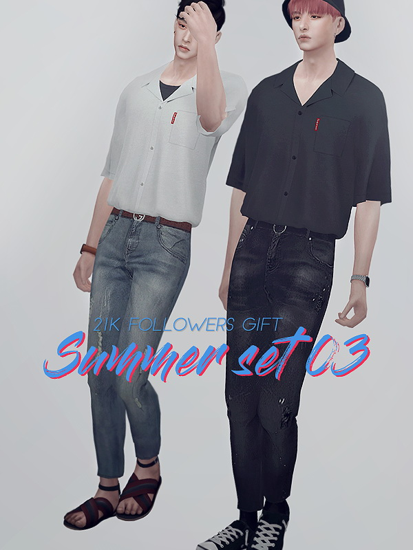 Sims 4 Summer set 03 at KK's Sims4 – ooobsooo