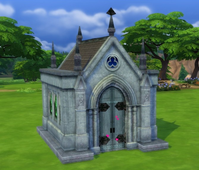 Mausoleum Remake by fire2icewitch at Mod The Sims image 896 670x574 Sims 4 Updates