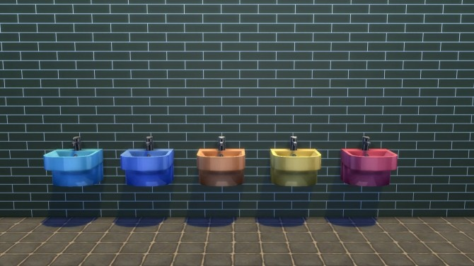 Shorty Sink by Snowhaze at Mod The Sims image 90 670x377 Sims 4 Updates