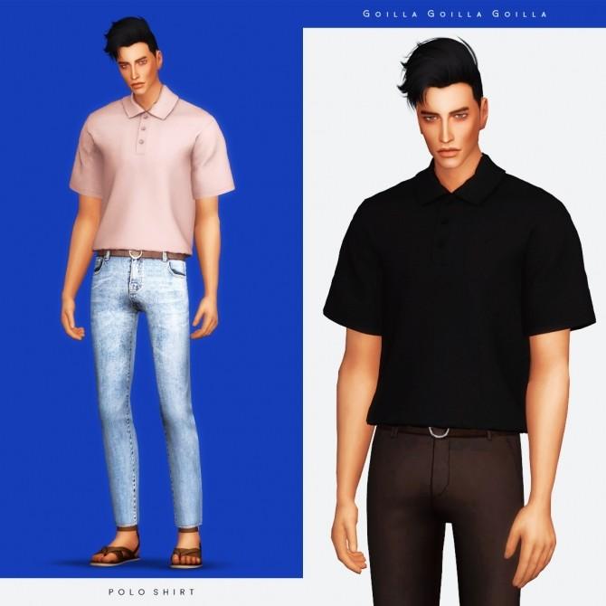 Sims 4 Polo Shirt at Gorilla