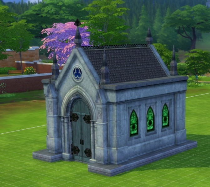 Mausoleum Remake by fire2icewitch at Mod The Sims image 907 670x596 Sims 4 Updates