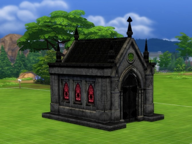 Mausoleum Remake by fire2icewitch at Mod The Sims image 9111 670x504 Sims 4 Updates