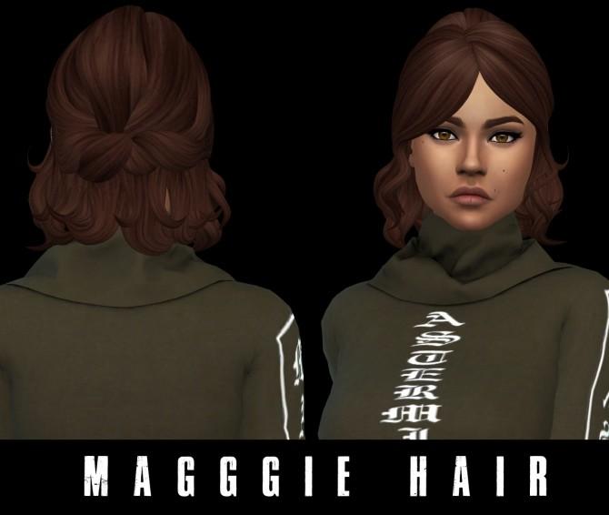 Sims 4 Maggie Hair at Leo Sims