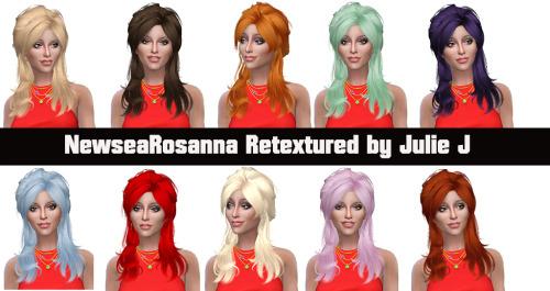 Newsea Rosanna Hair retexture at Julietoon – Julie J image 9220 Sims 4 Updates