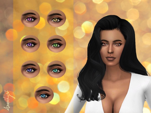 Sims 4 The mystical eyes of Isabella by amethyst dragon at TSR