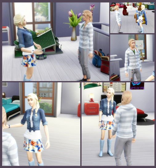 Sims 4 Chrissy's and Christian's SideBraid Hair at Birksches Sims Blog