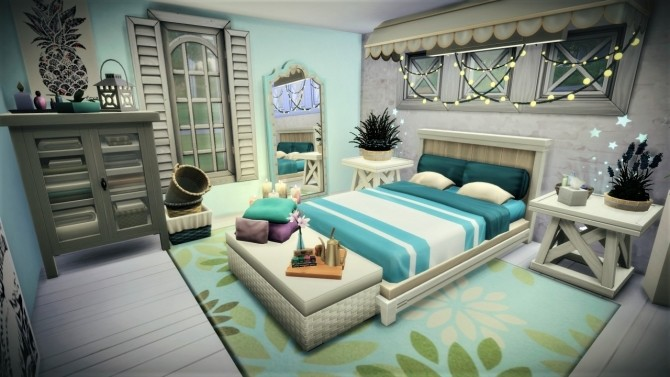 Little guest bedroom at Agathea k image 956 670x377 Sims 4 Updates