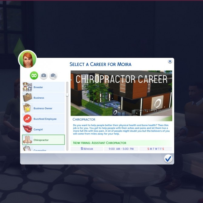 Chiropractor Career by Piscean6 at Mod The Sims image 96 670x670 Sims 4 Updates
