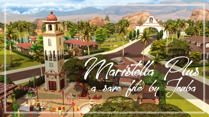 Maristella Plus re do of Oasis Springs at Jenba Sims image 9614 670x377 Sims 4 Updates