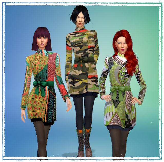 Sims 4 Seasons coat by Chalipo at All 4 Sims