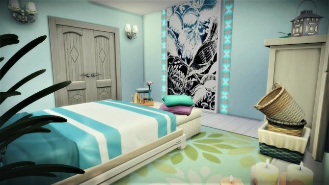 Little guest bedroom at Agathea k image 966 670x377 Sims 4 Updates
