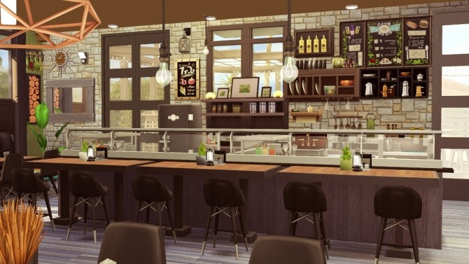 SolCaf restaurant at Jenba Sims image 969 670x377 Sims 4 Updates