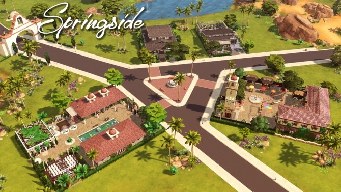 Maristella Plus re do of Oasis Springs at Jenba Sims image 9713 670x377 Sims 4 Updates