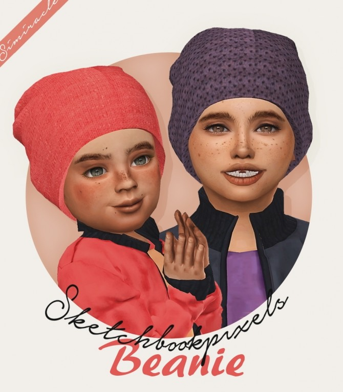 Sims 4 Sketchbookpixels Beanie 3T4 at Simiracle