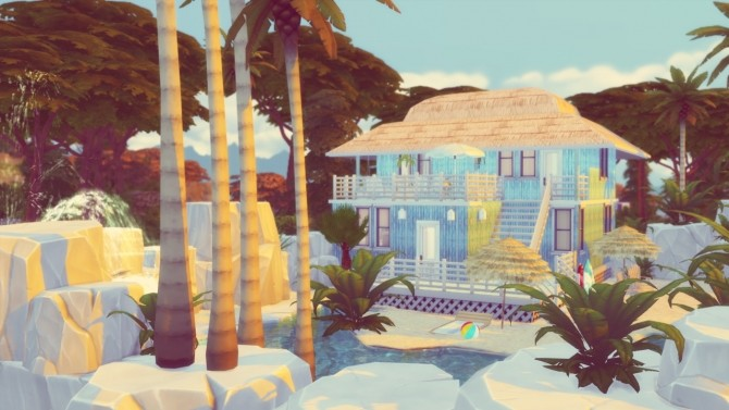 Sea Senorita house at Simming With Mary image 975 670x377 Sims 4 Updates