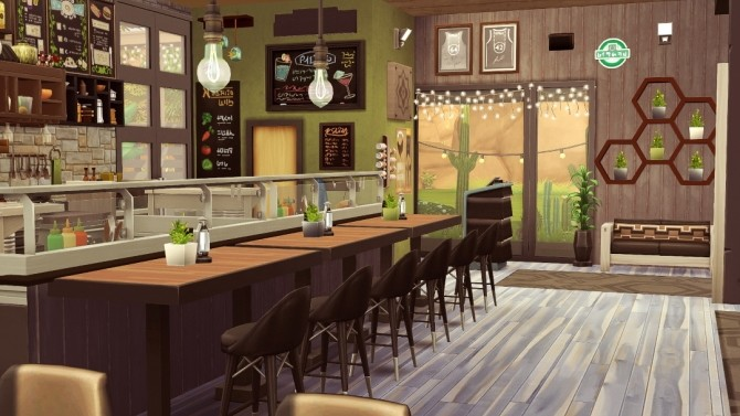 SolCaf restaurant at Jenba Sims image 978 670x377 Sims 4 Updates