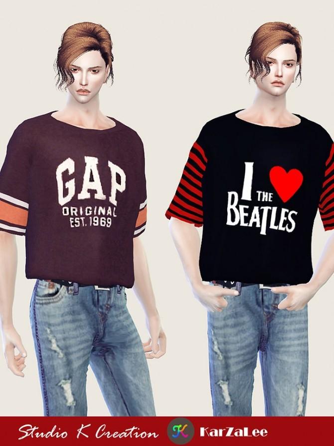 Sims 4 Giruto 57 T shirts at Studio K Creation