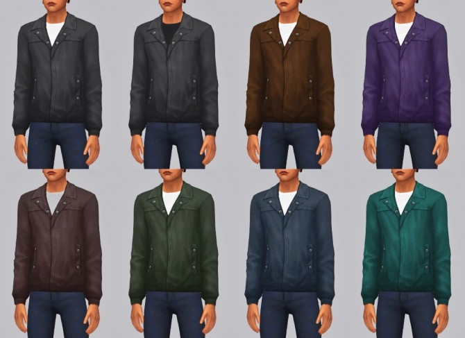 LEATHER JACKET at Wyatts Sims image 9815 670x487 Sims 4 Updates