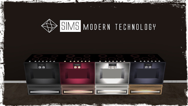 MG24 4Sims Stove 3T4 Conversion at Sims Modern Technology image 9816 Sims 4 Updates