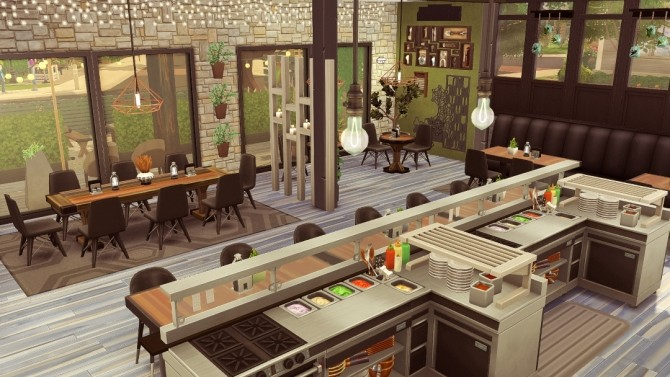 SolCaf restaurant at Jenba Sims image 988 670x377 Sims 4 Updates