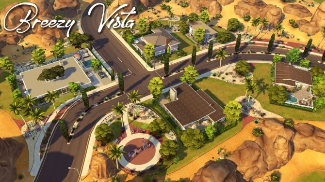 Maristella Plus re do of Oasis Springs at Jenba Sims image 9913 670x377 Sims 4 Updates