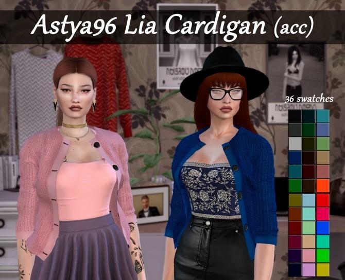 Lia Cardigan (acc) at Astya96 image 9916 670x545 Sims 4 Updates