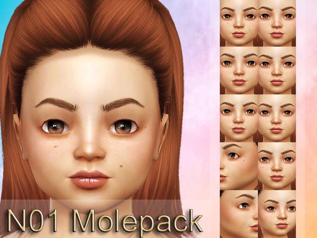 Sims 4 N01 Molepack at MSQ Sims