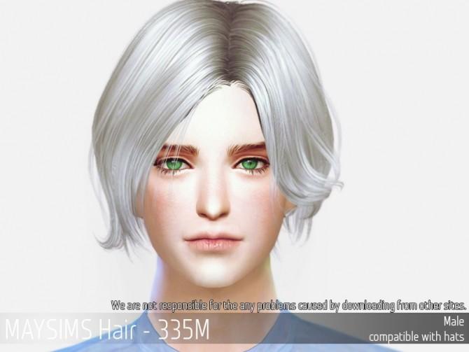 Sims 4 Hair 335M at May Sims