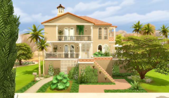 House 51 Oasis Springs At Via Sims Sims 4 Updates