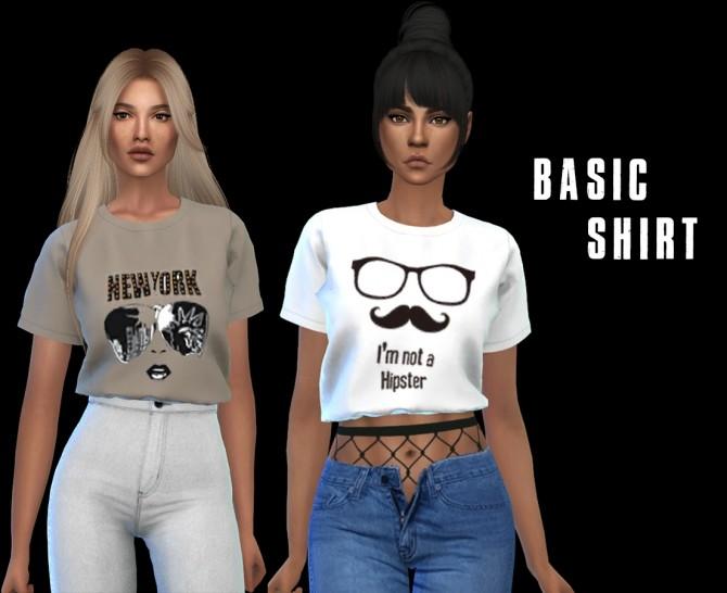 Basic shirt at Leo Sims image 10112 670x546 Sims 4 Updates