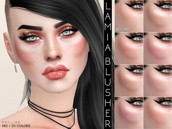 Lamia Blush N52 by Pralinesims at TSR image 1014 Sims 4 Updates