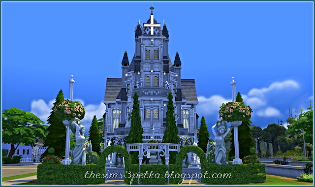 Bride Dream church at Petka Falcora image 1038 Sims 4 Updates