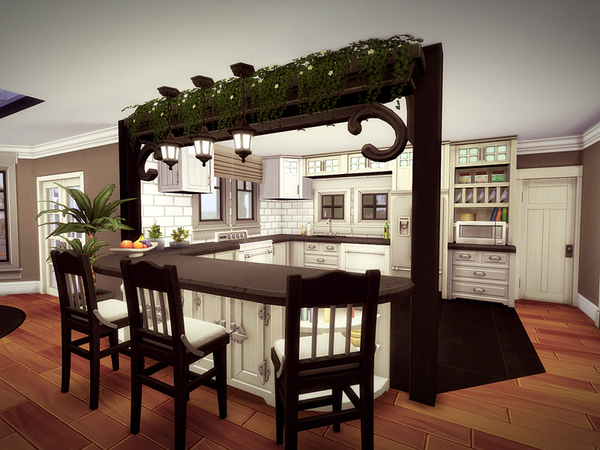 Oakwood house NO CC by melcastro91 at TSR image 1039 Sims 4 Updates