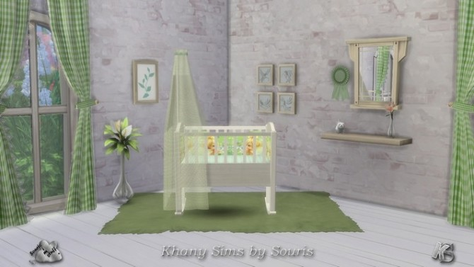 Pretty CAMPAGNE cribs by Souris at Khany Sims image 1045 670x377 Sims 4 Updates