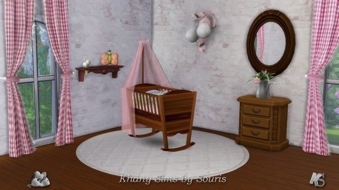 Pretty CAMPAGNE cribs by Souris at Khany Sims image 1054 670x377 Sims 4 Updates