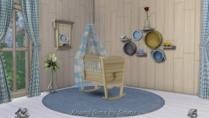 Pretty CAMPAGNE cribs by Souris at Khany Sims image 1064 670x377 Sims 4 Updates