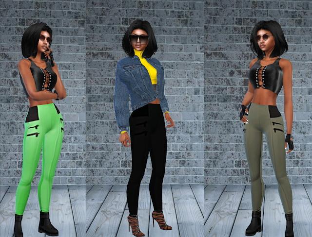 Kidja Zipper Leggings at Teenageeaglerunner image 1086 Sims 4 Updates
