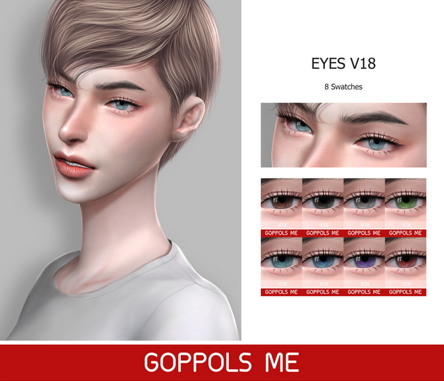Eyes V18 at GOPPOLS Me image 1092 Sims 4 Updates