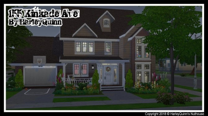 Sims 4 155 Kinkade Ave at Harley Quinn's Nuthouse