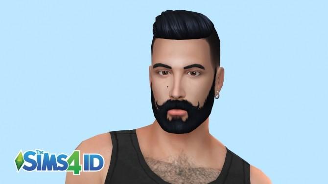 Sims 4 Van Dyke Style V2 Beard at The Sims 4 ID
