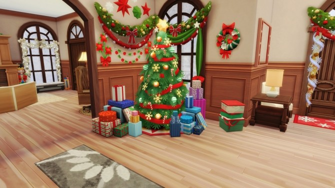Merry Xmas in July! base game home at BERESIMS image 11111 670x377 Sims 4 Updates