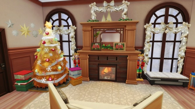 Merry Xmas in July! base game home at BERESIMS image 1124 670x377 Sims 4 Updates