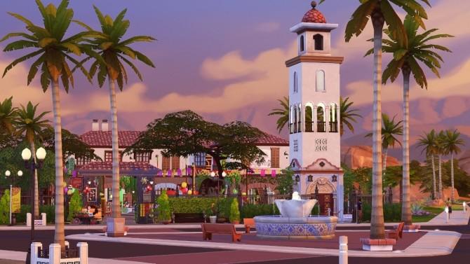 Just Maristella (Save File) Oasis Springs redone at Jenba Sims image 1152 670x377 Sims 4 Updates