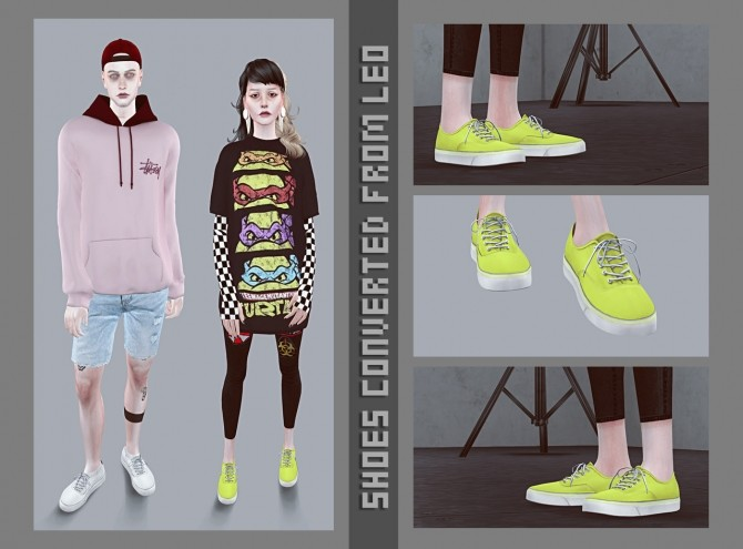 Converted shoes from Leo 6 at Magic bot image 1161 670x495 Sims 4 Updates