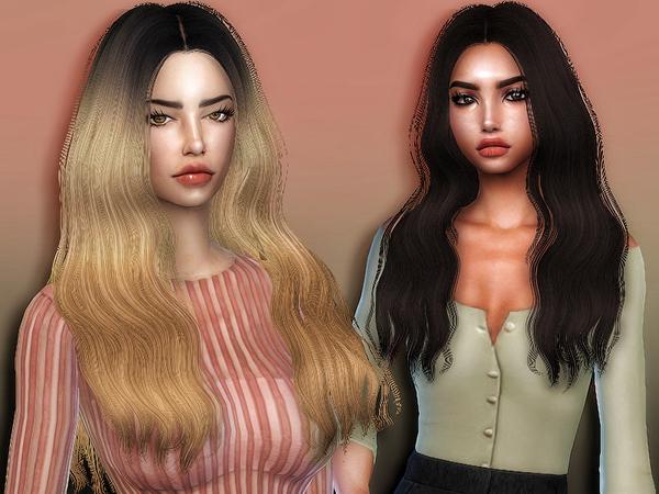 Sims 4 Jane hair retexture by Sharareh at TSR