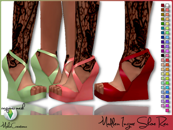 Madlen Ingvar Shoe Recolor by MahoCreations at TSR image 1190 Sims 4 Updates
